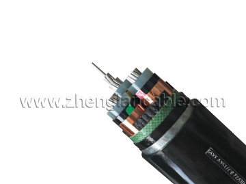 STA armored MV underground cable