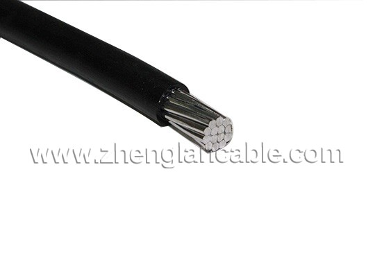 XLPE Covered Single Core Aluminum Cable